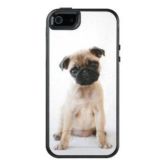 Perro joven lindo del barro amasado funda otterbox para iPhone 5/5s/SE