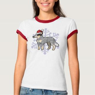 Perro/Kelpie australianos del ganado del navidad Camisas