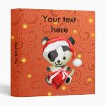 Perro lindo adaptable en carpetas de Navidad del g