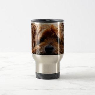 Perro lindo de Yorkshire Terrier Taza Térmica