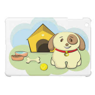 Perro lindo iPad mini cobertura