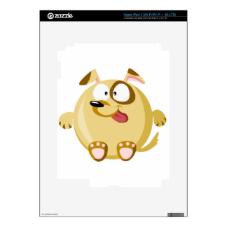 Perro lindo iPad 3 pegatina skin