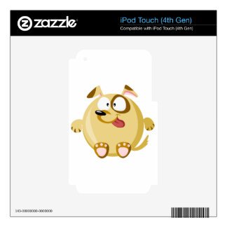 Perro lindo iPod touch 4G skin
