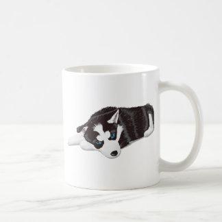 Perro lindo taza