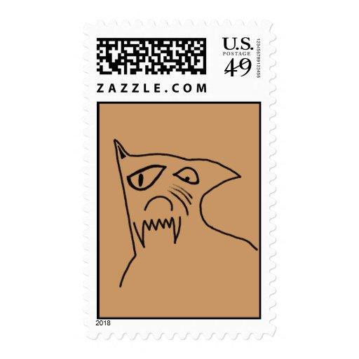 Perro loco sellos