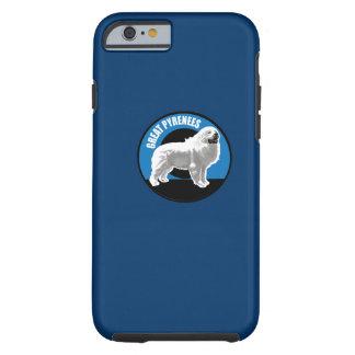 Perro los grandes Pirineos Funda Para iPhone 6 Tough