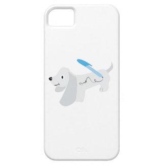 Perro manuscrito iPhone 5 carcasas