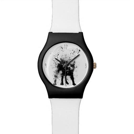 Perro mojado reloj