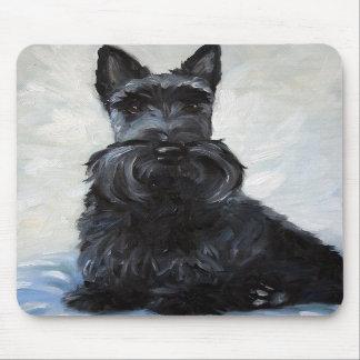 Perro Mousepad de Terrier del escocés del escocés