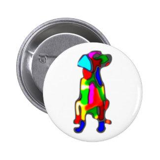 perro multicolor colorful dog