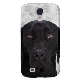 Perro negro de Labrador Funda Para Galaxy S4