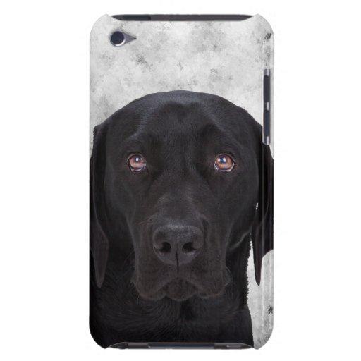 Perro negro de Labrador iPod Touch Protector