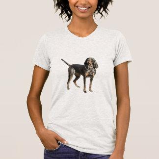 Perro negro y del moreno americano del Coon Camisas