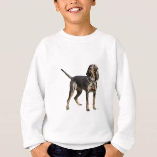 Perro negro y del moreno americano del Coon Playera