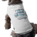 Perro oficial de la terapia ropa de perro