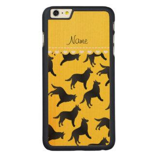 Perro pastor belga amarillo conocido personalizado