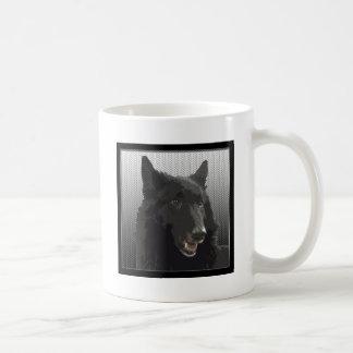 Perro pastor belga tazas