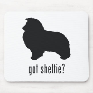 Perro pastor de Shetland Alfombrilla De Raton