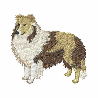 Perro pastor de Shetland Sudadera Bordada