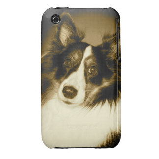 Perro pastor de Shetland Funda Para iPhone 3 De Case-Mate