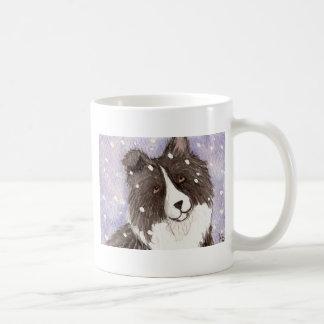 "Perro pastor de Shetland negro del BI ""Nevado Taza"