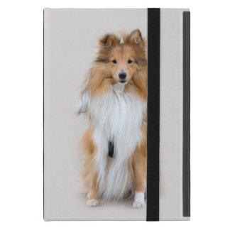 Perro pastor de Shetland, retrato lindo de la foto iPad Mini Carcasas