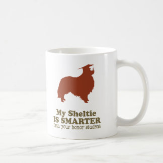 Perro pastor de Shetland Tazas De Café
