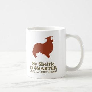 Perro pastor de Shetland Taza Clásica