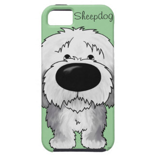 Perro pastor grande de la nariz iPhone 5 Case-Mate cobertura