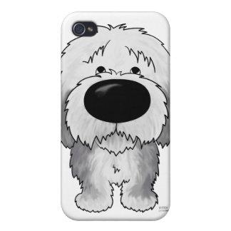 Perro pastor grande de la nariz iPhone 4 cárcasa