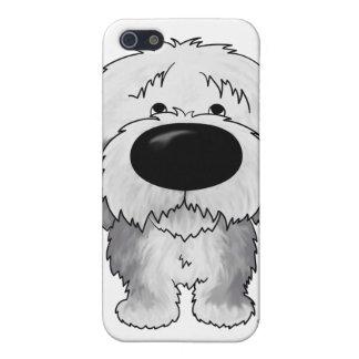 Perro pastor grande de la nariz iPhone 5 carcasa
