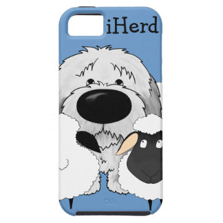 Perro pastor - iHerd iPhone 5 Case-Mate Protector