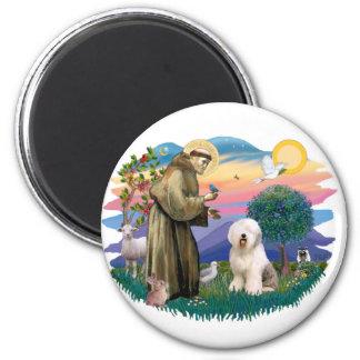 Perro pastor inglés viejo (#6) iman