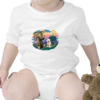 Perro pastor inglés viejo (#6) trajes de bebé
