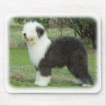 Perro pastor inglés viejo 9F055D-17 Alfombrillas De Raton