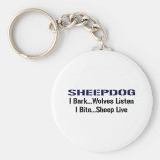 Perro pastor llavero personalizado