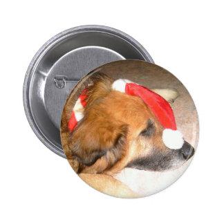 Perro pastor perro Divertido la navidad Christ Pin