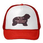 Perro pastor polaco BFF de la tierra baja Gorra