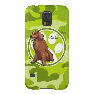 Perro perdiguero de bahía de Chesapeake camo Carcasa De Galaxy S5
