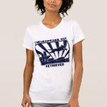 Perro perdiguero de bahía de Chesapeake de salto Camiseta