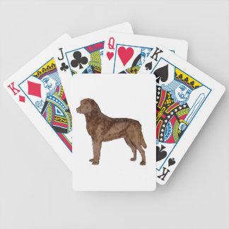 perro perdiguero de bahía de Chesapeake full.png Baraja Cartas De Poker