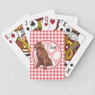 Perro perdiguero de bahía de Chesapeake; Guinga Cartas De Póquer