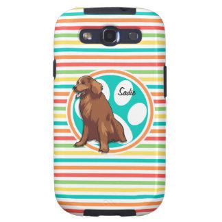 Perro perdiguero de bahía de Chesapeake Rayas Galaxy S3 Funda