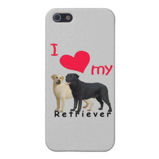 Perro perdiguero iPhone 5 fundas