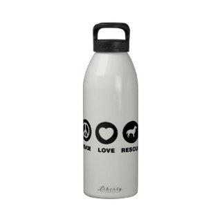 Perro perdiguero Plano-Revestido Botellas De Beber