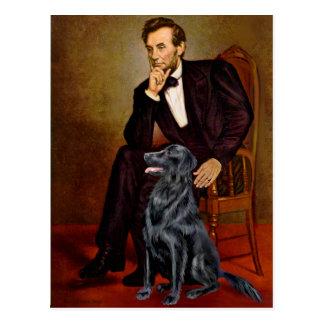 Perro perdiguero revestido plano 1 - Lincoln Postal