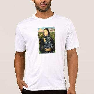 Perro perdiguero revestido plano 2 - Mona Lisa Remera