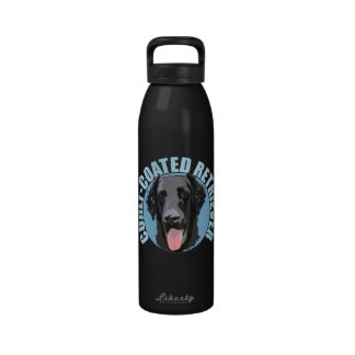 Perro perdiguero Rizado-Revestido Botella De Beber