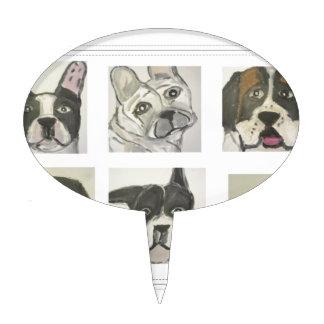 perro, perros, mascotas, ginsburg de eric, worldof decoraciones para tartas