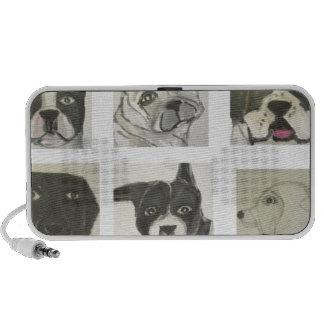 perro, perros, mascotas, ginsburg de eric, worldof mini altavoces